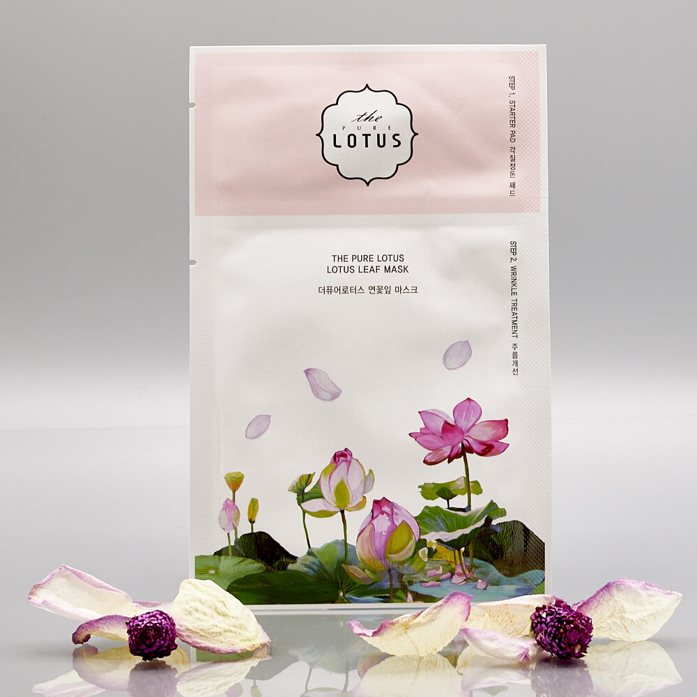 The_Lotus__2_Step_Lotus_Leaf_Mask_Wrinkle_Treatment