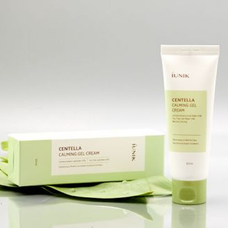 IUNIK Centella Calming Gel Cream - Collage