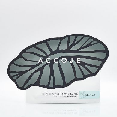 Accoje Vital in Jeju Aqua Mask Sheet