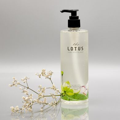 The Pure Lotus - Lotus Leaf Shampoo for oily Scalp