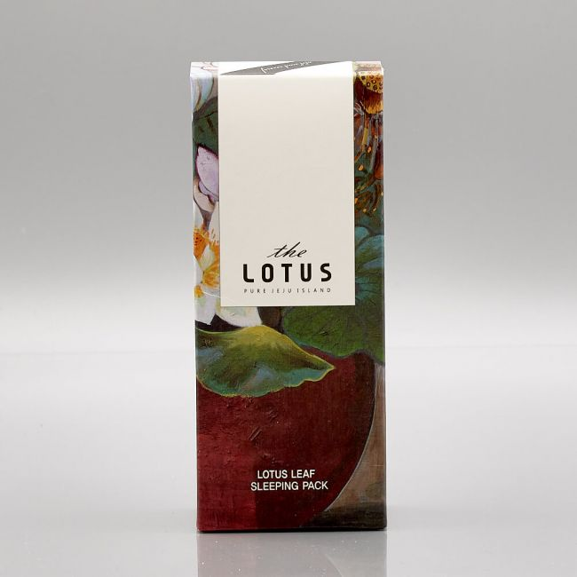 The Pure Lotus - Lotus Leaf Extract Sleeping Pack