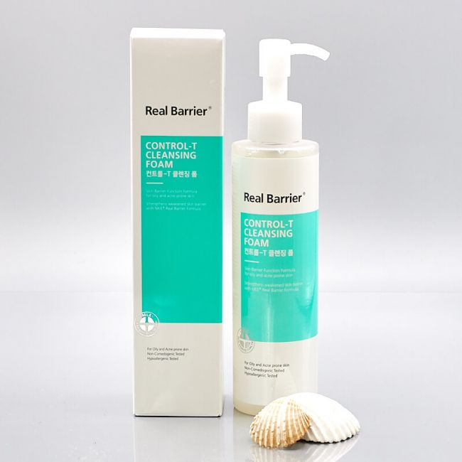 Real Barrier Control-T-Cleansing Foam