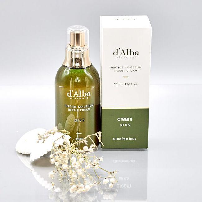 d'Alba Peptide No-Sebum Repair Cream