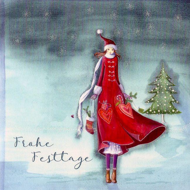 Juui Weihnachtskarte