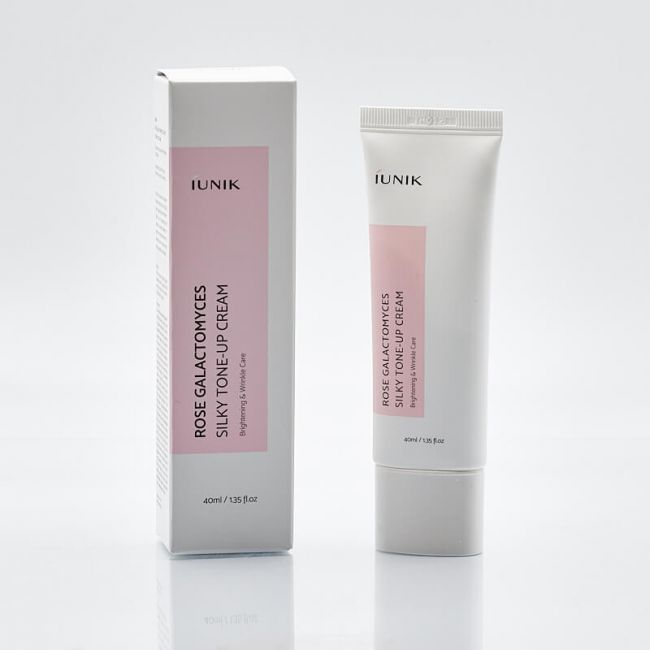 iUnik Rose Galactomyces Silky Tone-up Cream