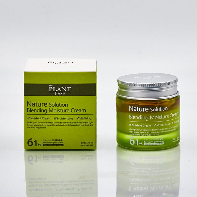 The Plant Base Nature Solution Blending Moisture Cream