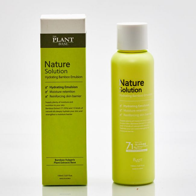 The Plant Base Nature Solution Hydrating Bamboo Emulsion