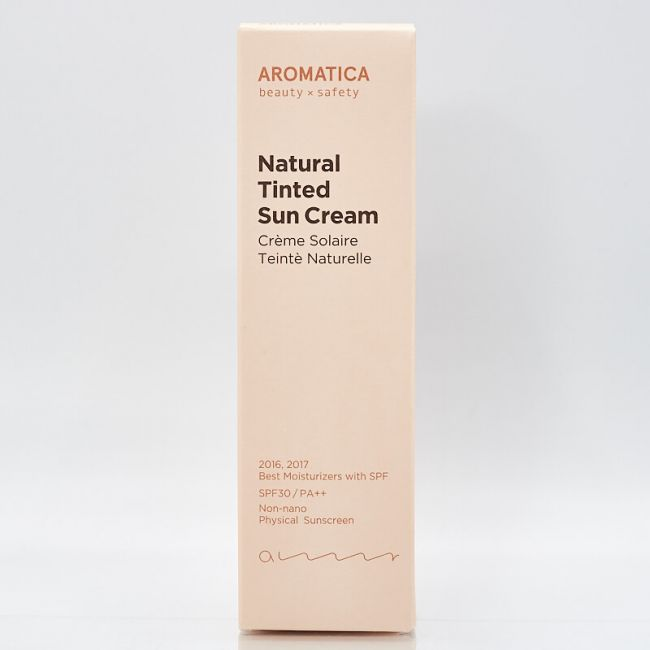 Aromatica Natural Tinted Sun Cream